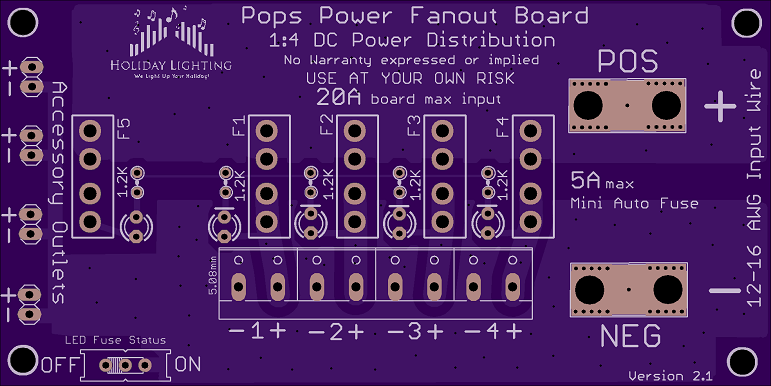 The Power Pops Fanout Board